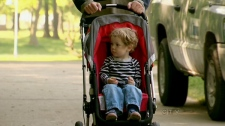 Research shows of the 1,000 children studied for the report that 80 per cent of toddlers aged one to two were kept in strollers more than half the time they spent outdoors.