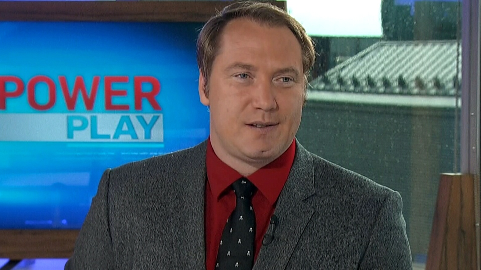 Defence Intelligence CEO Keith Murphy appears on CTV's Power Play, Monday, Oct. 7, 2013.