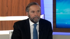 NDP Leader Thomas Mulcair