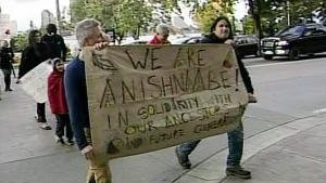 CTV Windsor: Windsor Idle No More action