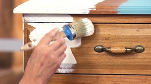 Refinishing your furniture is a great option to give it a new look.