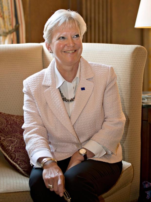 EU ambassador in Canada Marie-Anne Coninsx
