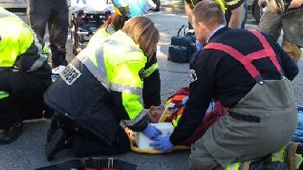 Phoenix Gas Prices >> Brockville Crossing guard struck by car, saved by ...