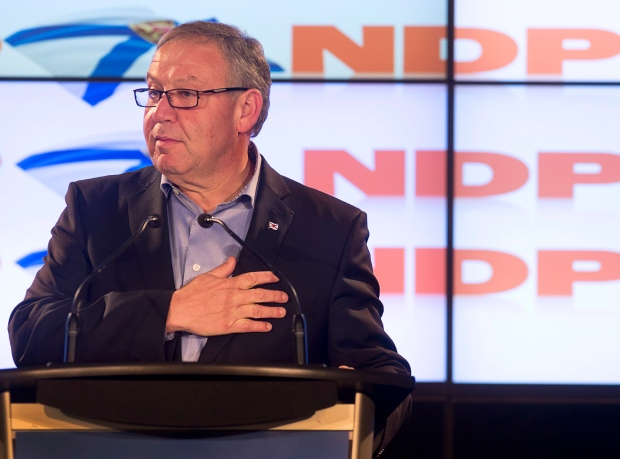 Dexter didn't expect drop in NDP support