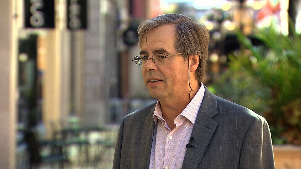 National security expert Wesley Wark speaks with CTV News, Wednesday, Oct. 9, 2013.