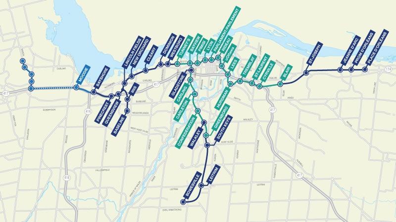 Kanata residents say light rail offtrack CTV Ottawa News