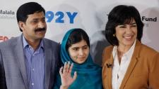 Malala Yousafzai wins top EU Sakharov Prize