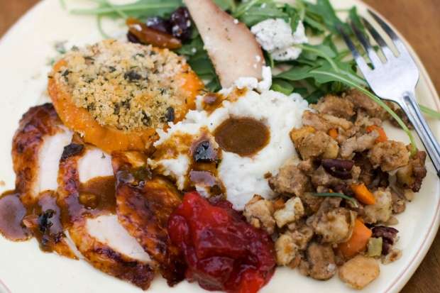 The scary caloric truth of Thanksgiving feasts