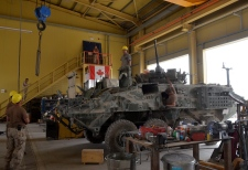 Canadian light armoured vehicle