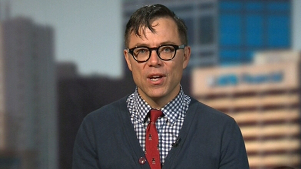 Timothy Caulfield, a health law professor at the University of Alberta, appears on CTV's Canada AM from Edmonton, Friday, Oct. 11, 2013.