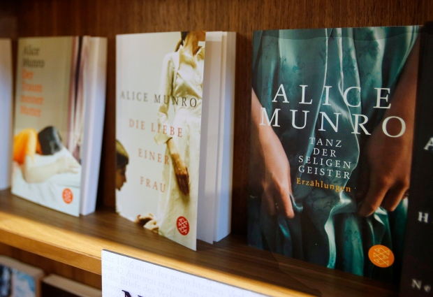 Books of Alice Munro at the Book Fair in Germany