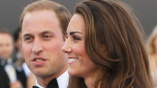 Prince William, the Duke of Cambridge, and his wife Kate, Duchess of Cambridge arrive at a charity event for Absolute Return for Kids, ARK, in London, Thursday, June, 9, 2011. (AP / Alastair Grant)