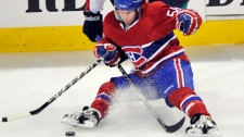 David Desharnais has signed a two-year deal with the Habs. (CP File photo).