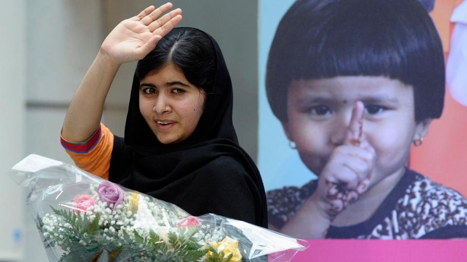 Malala Yousafzai, Pakistani schoolgirl shot by Taliban ...