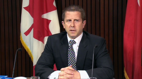 Ontario Ombudsman Andre Marin comments on his report on Tuesday, June 21, 2011.