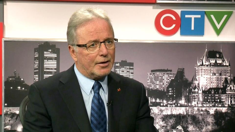 Dr. Charles Bernard, CEO of College Des Medecins, appears on CTV Montreal, Friday, Oct. 11, 2013.