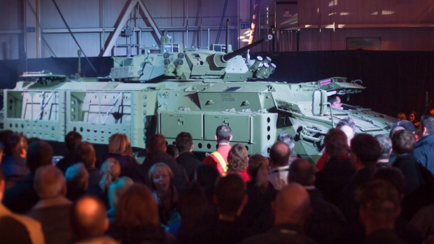 $2.1B armoured vehicle purchase hangs in balance