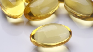 Vitamin D supplements are shown in this stock image. (gotvideo / Shuttertstock.com)