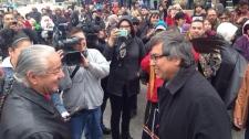 UN Rapporteur on Indigenous Peoples in Winnipeg