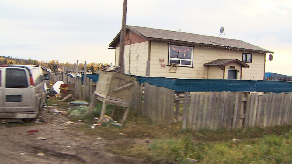 A UN investigator visited a reserve as part of a nine-day tour into what have been called 'Third World living conditions' for Canada's aboriginal communities in northwest Manitoba, Saturday, Oct. 12, 2013.