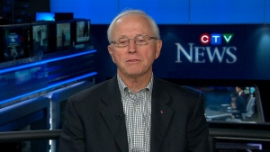 Former CSEC head John Adams appears on CTV's Question Period, Sunday, Oct. 13, 2013.