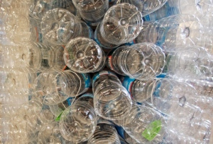 This Wednesday, Dec. 5, 2012 file photo shows a sculpture made of empty water bottles in Burlington, Vt. (AP / Toby Talbot)