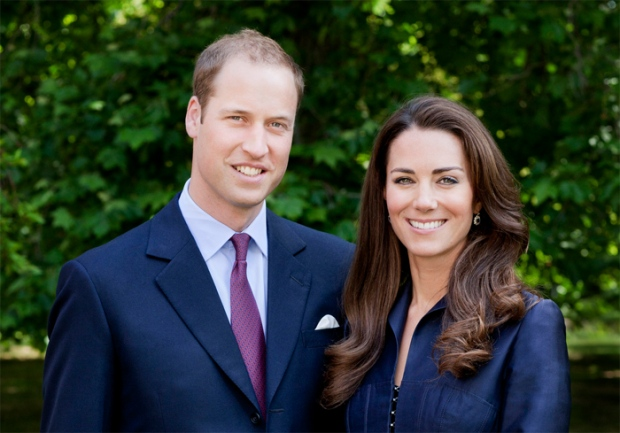 The Official Photo of the 2011 Royal Tour: Their Royal Highnesses The Duke and Duchess of Cambridge. (Photograph Chris Jackson / St James's Palace 2011)