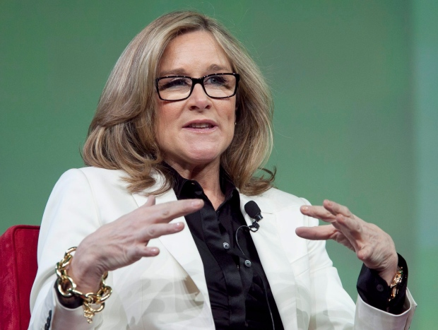 Angela Ahrendts in New York City in January, 2012