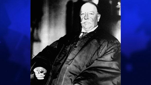 William Taft Weight Letters detail U.S. Pr...