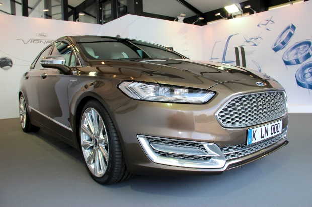 Ford to launch luxury line in Europe