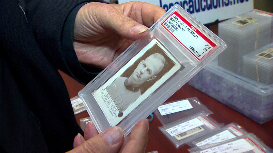 CTV National News: Hockey card collection