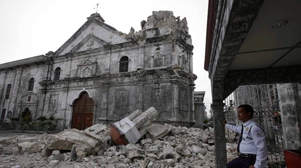 Jew Detector: Deadly Earthquake Takes Toll On Philippines' Heritage