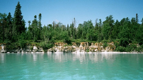 Little Limestone Lake is Manitoba's newest provincial park.
