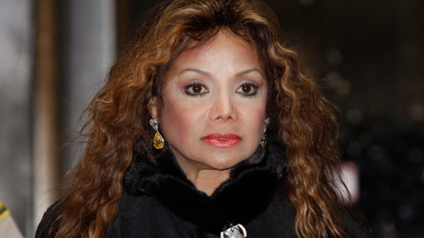 LaToya Jackson, sister of Michael Jackson, leaves court after a hearing for Jackson's doctor, Conrad Murray, in Los Angeles, Thursday Jan. 6, 2011. (AP / Nick Ut)