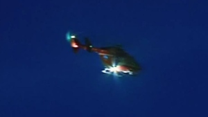 CTV Saskatoon: STARS tries landing in busy street