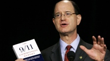 Rep. Brad Sherman, D-Calif., gestures during a news conference at the National Press Club in Washington, Thursday, Sept. 7, 2006. (AP / Haraz N. Ghanbari)