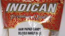 Indican brand Aam Papad Candy is seen in this image posted to the Canadian Food Inspection Agency website. (CFIA website)