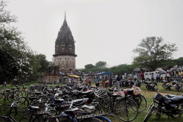 Fort of King Rao Ram Baksh Singh in Unnao