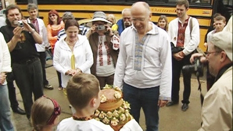 Ukrainians celebrated their heritage this week in Montreal.