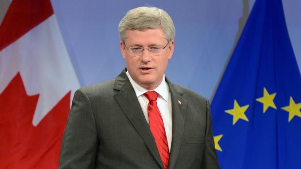 Harper calls tentative EU agreement 'biggest deal'