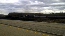 TSB train derail pic, oct 2013