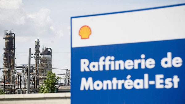 Shell Canada's Montreal East refinery will be converted into a distribution terminal, with much of the refinery being dismantled and de-contaminated (File Photo: THE CANADIAN PRESS/Graham Hughes)