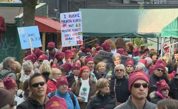 Montreal Walks for mental health, 5th edition