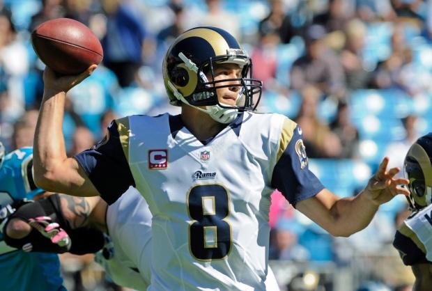 Rams Quarterback Sam Bradford Leaves Game After Knee