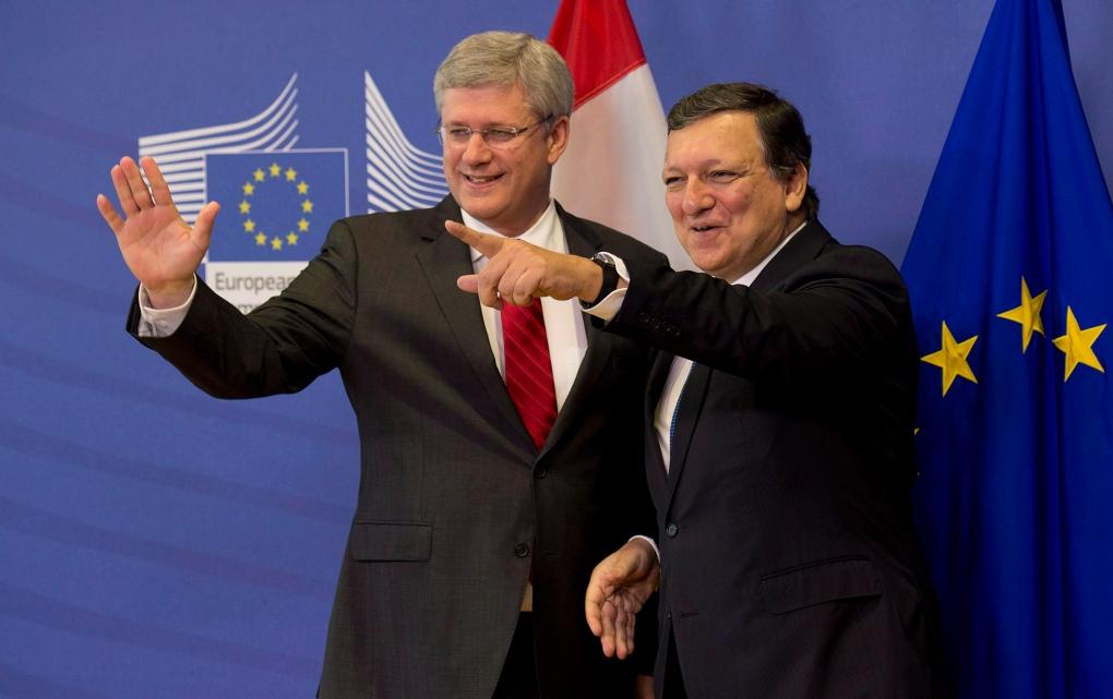 Canada-EU trade agreement