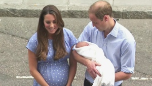 CTV News Channel: Royal baby christening