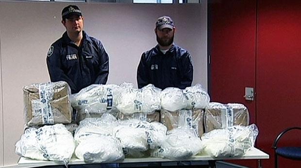 australian police bust canadian