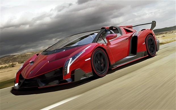 $4.5 Million Lamborghini Veneno Roadster Announced
