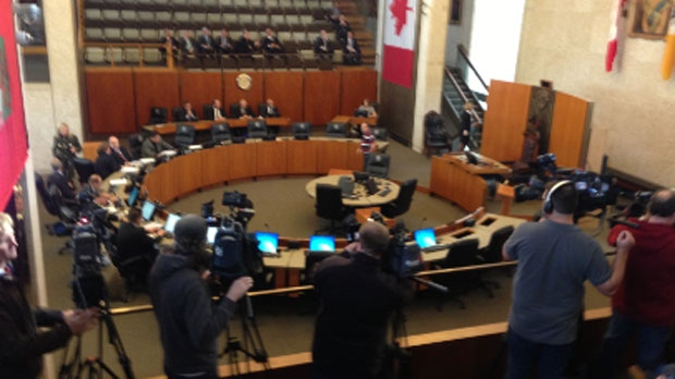 Councillors learned results from the fire hall audit on Monday at a special session in Winnipeg.