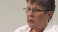 Gloria Taylor, who suffers from ALS, is applying to be a plaintiff in a lawsuit seeking to overturn laws against doctor-assisted suicide. June 28, 2011. (CTV)